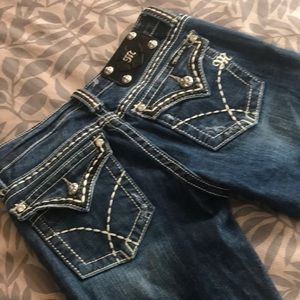 Miss Me Jeans - 1 hr SALE - Miss Me, Boot Cut with 💎 Jewels